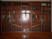 Библиотека:каркас ДСП,фасад-AL систем+ стекло